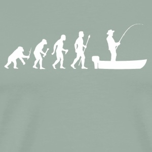 Funny Evolution Of Man and Boat Fishing