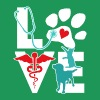 Veterinarian Love Cat and Dog Veterinary T Shirt - Men's Premium T-Shirt