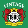 Vintage 1998 Aged to Perfection - Men's Premium T-Shirt
