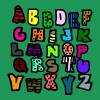 Graffiti Alphabet Multi-Color--DIGITAL DIRECT ONLY - Men's Premium T-Shirt