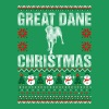 Great Dane Christmas Ugly Sweater - Men's Premium T-Shirt