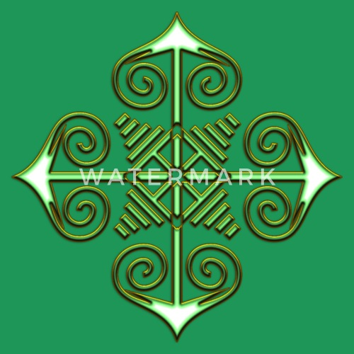 Chaos Star Symbol Of Chaos Green Gold Everything Has Meaning
