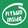 pitbull inside (1845B) - Men's Premium T-Shirt