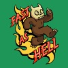 Fast as Hell - Men's Premium T-Shirt