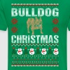 Bulldog Christmas Ugly Sweater - Men's Premium T-Shirt