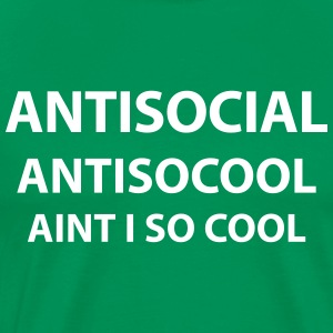 Antisocial - Men's Premium T-Shirt