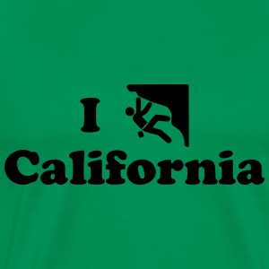 california rock climbing - Men's Premium T-Shirt