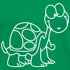 Funny Turtle - Men's Premium T-Shirt