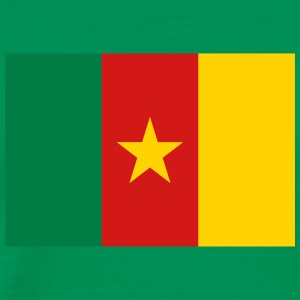 National Flag Of Cameroon - Men's Premium T-Shirt