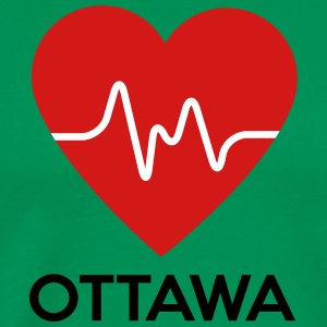 Heart Ottawa - Men's Premium T-Shirt
