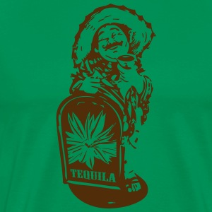 senior tequila - Men's Premium T-Shirt