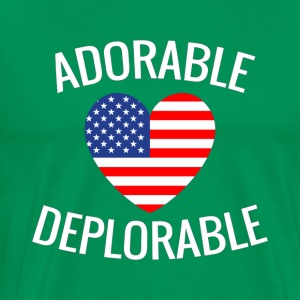 Adorable Deplorable - Men's Premium T-Shirt