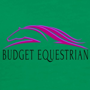 Budget Equestrian Purple - Men's Premium T-Shirt