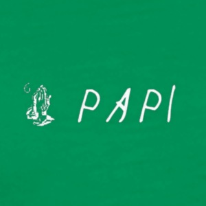 papi transparent - Men's Premium T-Shirt