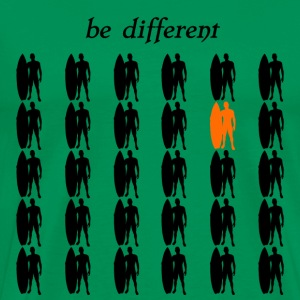 Be different Surfer Surfing - Men's Premium T-Shirt