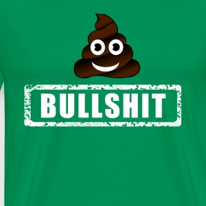 shit typo Poop emoticon Humor fun big lol Party - Men's Premium T-Shirt