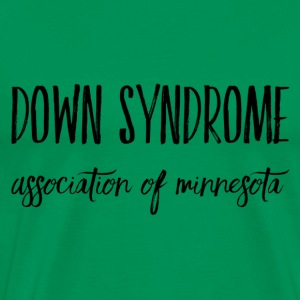 Down Syndrome Association of MN Marker - Men's Premium T-Shirt