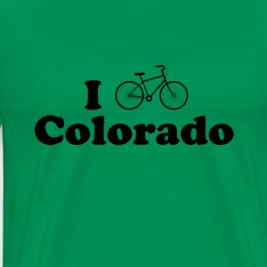 colorado biking - Men's Premium T-Shirt