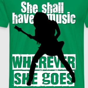 SHE SHALL HAVE MUSIC - Men's Premium T-Shirt