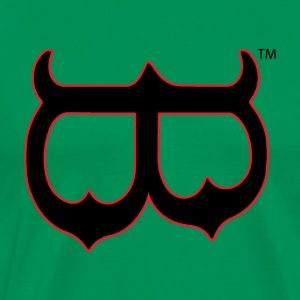 Upside Down or Mask B - Men's Premium T-Shirt