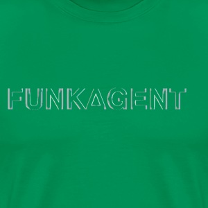 FunkAgent Distressed - Men's Premium T-Shirt