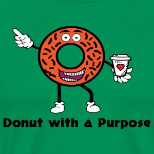 Donut with a Purpose Black - Men's Premium T-Shirt