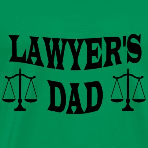 LAWYER S DAD - Men's Premium T-Shirt