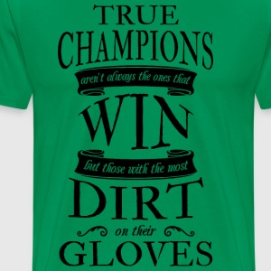Soccer Goalie True Champions - Men's Premium T-Shirt