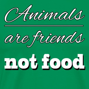Animal are friends - Men's Premium T-Shirt