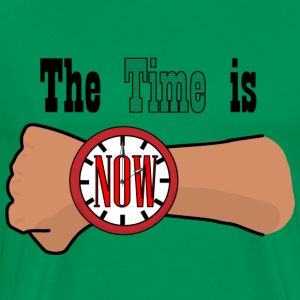 The Time is Now - Men's Premium T-Shirt