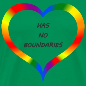 #lovehasnoboundaries - Men's Premium T-Shirt