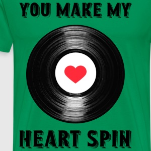 Heart Spin - Men's Premium T-Shirt