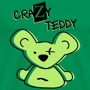 crazy teddy - Men's Premium T-Shirt