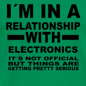 relationship with ELECTRONICS - Men's Premium T-Shirt