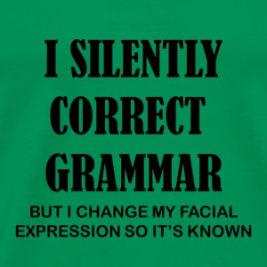 Grammar Expression - Men's Premium T-Shirt