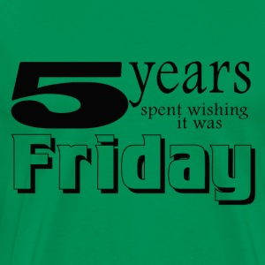 5 years wishing - Men's Premium T-Shirt