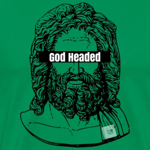 God Headed Logo - Men's Premium T-Shirt