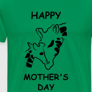Giraffe April MOTHERS DAY - Men's Premium T-Shirt