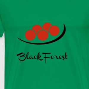 Black Forest Head Cap - Germany Tourist Fan - Men's Premium T-Shirt
