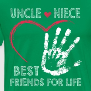 Uncle and niece best friends for life - Men's Premium T-Shirt