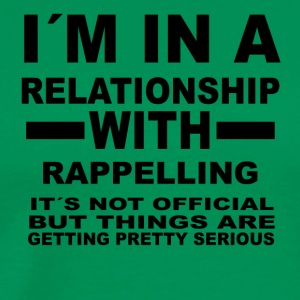 relationship with RAPPELLING - Men's Premium T-Shirt