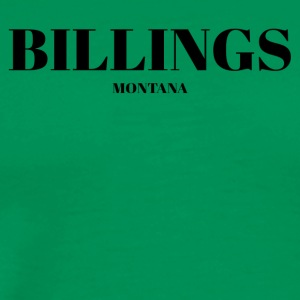 MONTANA BILLINGS US DESIGNER EDITION - Men's Premium T-Shirt