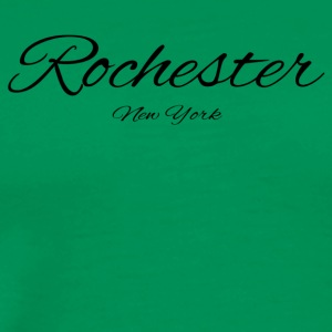 New York Rochester US DESIGN EDITION - Men's Premium T-Shirt