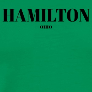 OHIO HAMILTON US DESIGNER EDITION - Men's Premium T-Shirt