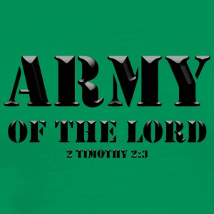 Army of the Lord Christian Faith - Men's Premium T-Shirt