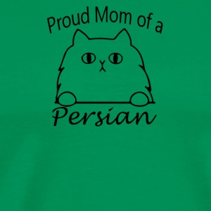 Proud Mom of a Persian Cat - Men's Premium T-Shirt