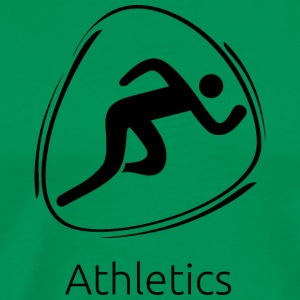 Athletics_black - Men's Premium T-Shirt