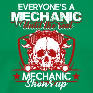 Real Mechanic Tee Shirt - Men's Premium T-Shirt