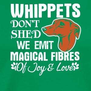 Whippets Hair Don't Shed Tee Shirt - Men's Premium T-Shirt