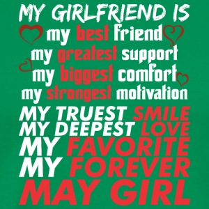 My Girlfriend Is May Girl - Men's Premium T-Shirt